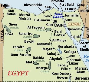 Maps of the Middle East and Main Cities - REVOLUTION OF eGYPT